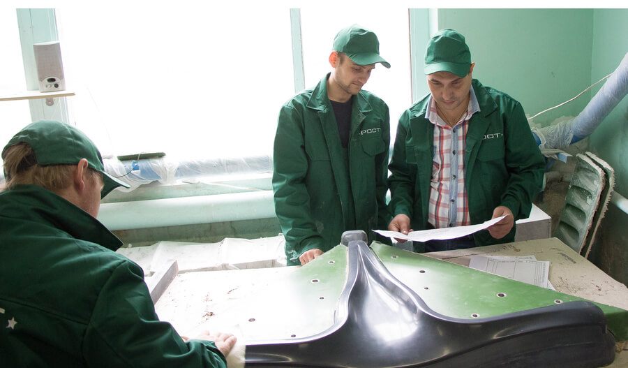 Fiberglass production