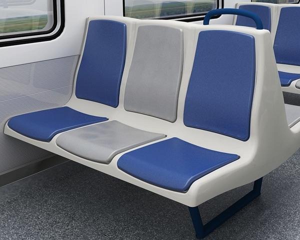 3-d class seats of fiberglass reinforced plastic