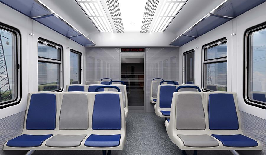 Модернізація інтер'єру дизель-поїзду ДР1
