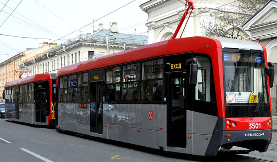 Трамвай ЛМ68М3