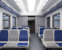 Interior modernization of diesel trains DR1