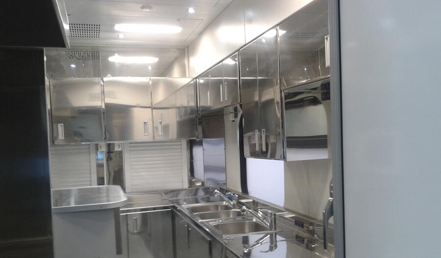 Интерьер вагона-ресторана