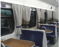 Dining car interior