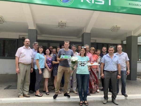 Коллектив «НПО «РОСТ» поздравляет своих сотрудников!